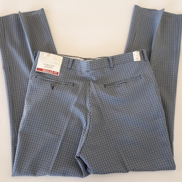 3cf09640 Men's Vintage 70's NOS Houndstooth Trousers